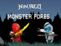 Ninjago Canavarlar Ormanı oyunu