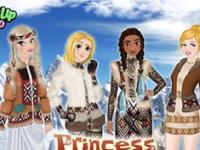 Prensesler Eskimo Modası oyunu