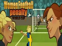 Kız Futbolu Penaltı oyunu