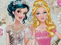 Prensesler Balo Kıyafetleri oyunu