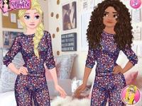 Prensesler Kış Alışverişi