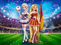 Prensesler 2018 Dünya Şampiyonasında oyunu