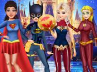 Prensesleri Süper Kahraman Yap oyunu