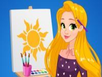 Rapunzel Sanat Okulu oyunu