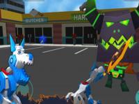 Robot Köpek Simülatörü oyunu