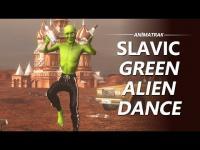 Rus Yeşil Uzaylı Dansı
