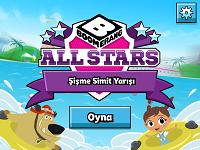 Boomerang All Stars Şişme Simit Yarışı oyunu
