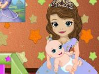 Prenses Sofia Bebek Bakımı oyunu