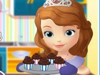 Sofia Muffin Kek Pişirme oyunu
