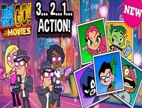 Teen titans Go Hollywood oyunu