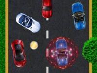Trafikte Araba Yarışı oyunu