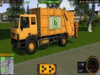 Çöp Arabası Simülatörü oyunu