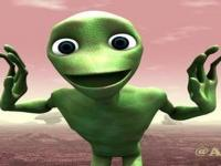 Dans Eden Yeşil Uzaylı Oyunu