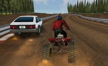 ATV 4 Çeker Motor Ralli