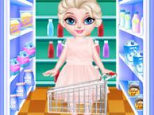Bebek Elsa Kurabiye Pişirme