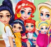 Prensesler Bebek Eğlencesi