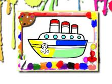 Gemiler Boyama Kitabı