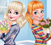 Çiçekçi Prensesler