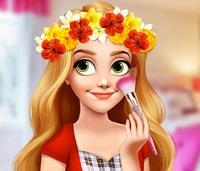 Rapunzel Çiçekli Taç
