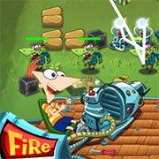 Phineas ve Ferb Bahçe Savunması