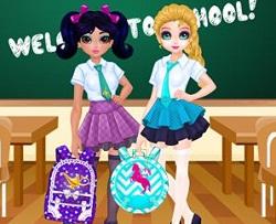 Yasemin ve Elsa Okul Çantası Tasarım