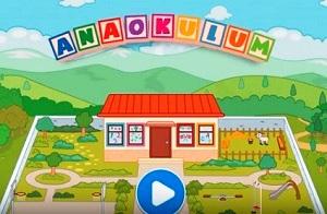 TRT Çocuk Anaokulu Oyunu