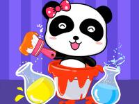 Bebek Panda Renkleri Karıştır