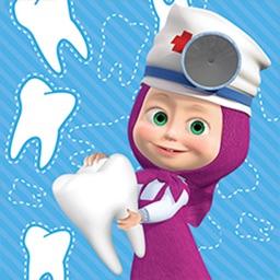 Maşa ile Koca Ayı Dişçi