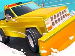 Kar Kureme Kamyonu Kar Kureme Kamyonu Oyunu Araba Oyunlari Oyun