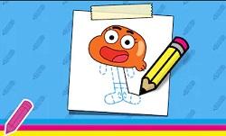 Gumball Darwin Nasıl Çizilir