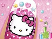 Hello Kitty Tırnak Bakımı