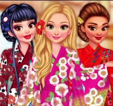 Prensesler Kimono Tasarımı