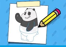 Panda Nasıl Çizilir