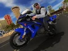 Polis Gücü Motosiklet Sürücüsü
