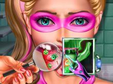 Süper Barbie Dil Doktorunda