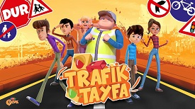 Rafadan Tayfa Trafik Oyunu