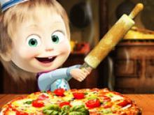 Maşa ve Koca Ayı Pizza