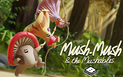 Mush Mush ve Arkadaşları Orman Koşusu