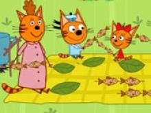 Kedi Ailesi ile Piknik