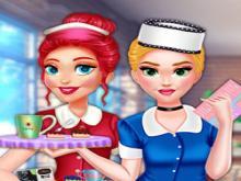 Prensesler Kafe Kıyafetleri