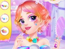 Prenses Şeker Makyajı