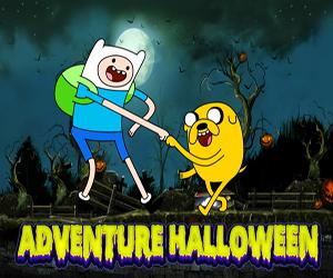 Adventure Time Cadılar Bayramı oyunu