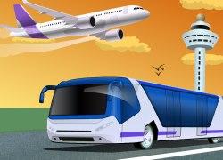 Havaalanı otobüs Parkı oyunu