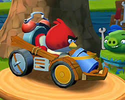 Angry Birds Yarışı oyunu