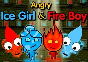 Öfkeli Ateş ve Su oyunu
