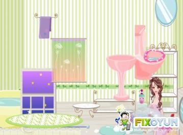 Barbie - Banyoda Oyunu