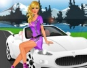 Barbie Araba Fuarı oyunu