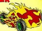 Ben 10 Ateş Araba Yarisi oyunu