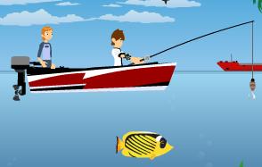 Ben 10 Balık Tut oyunu