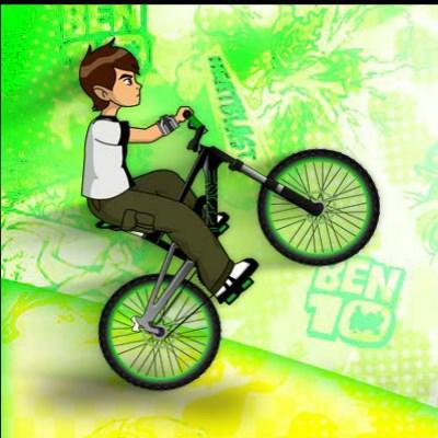 Ben 10 Yarış Bisikleti oyunu